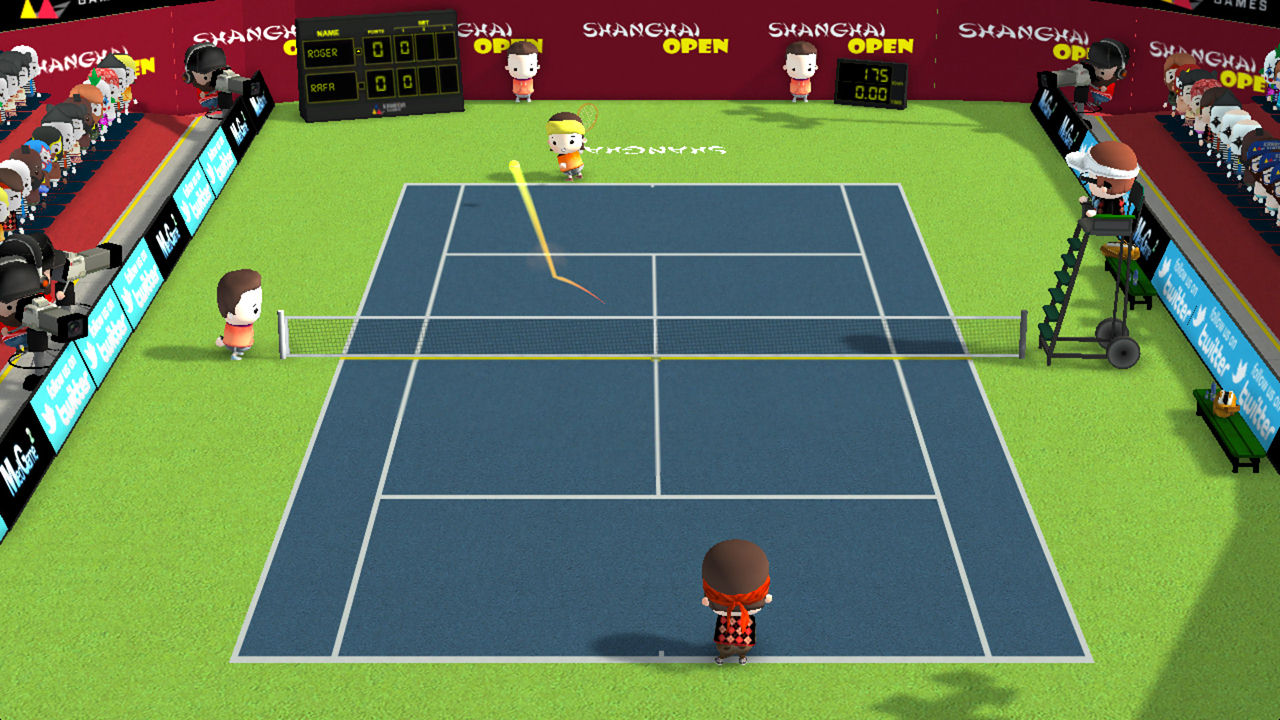 "Screenshot ""Smoots World Cup Tennis"""