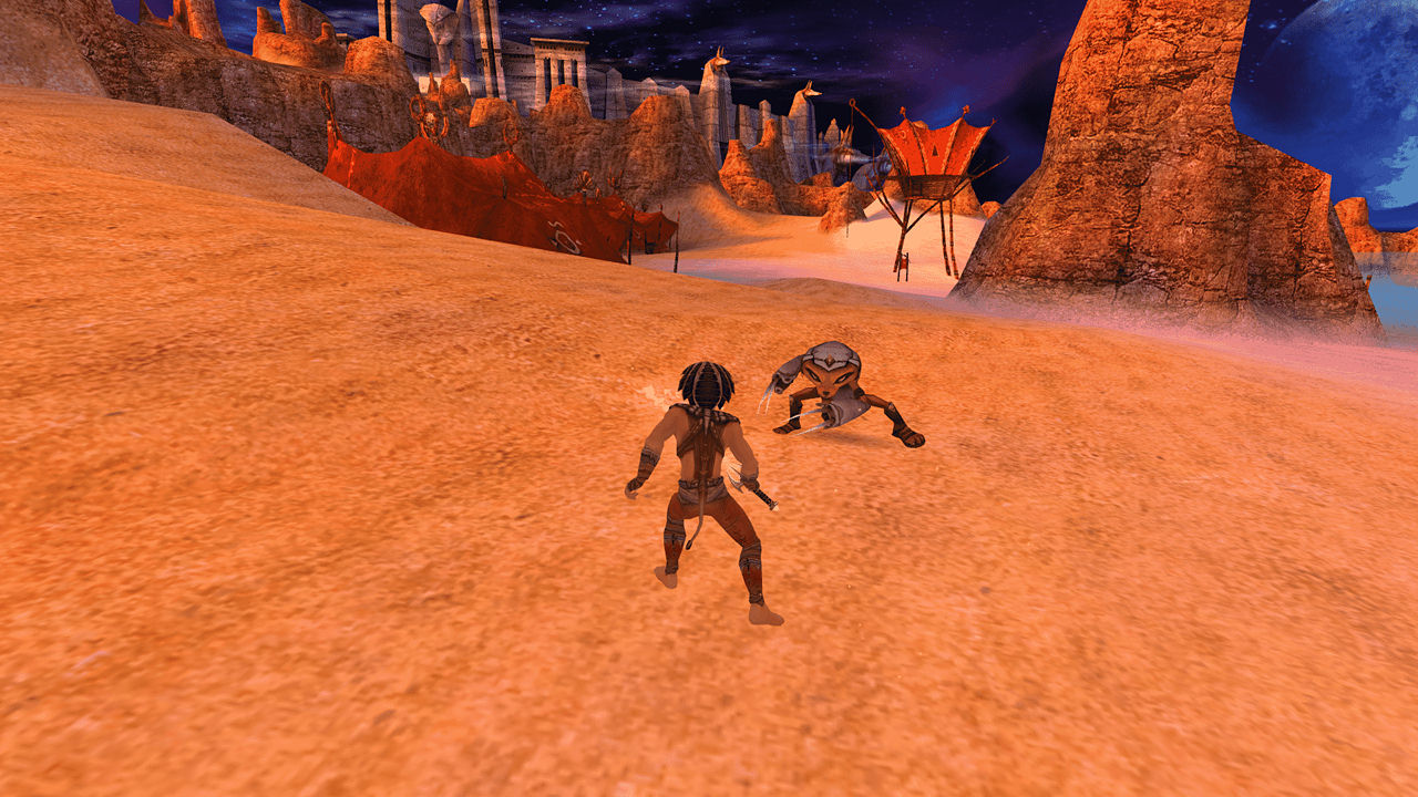 "Screenshot ""Sphinx and the Cursed Mummy"""