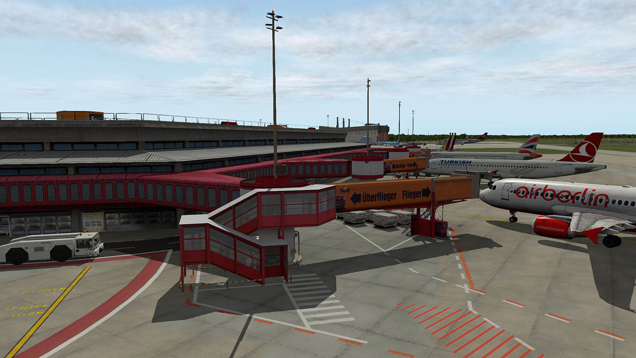 "Screenshot ""XPlane 11: Airport Berlin-Tegel"""