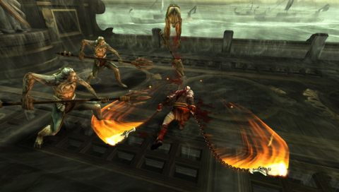 "Screenshot ""God of War: Ghost of Sparta"""