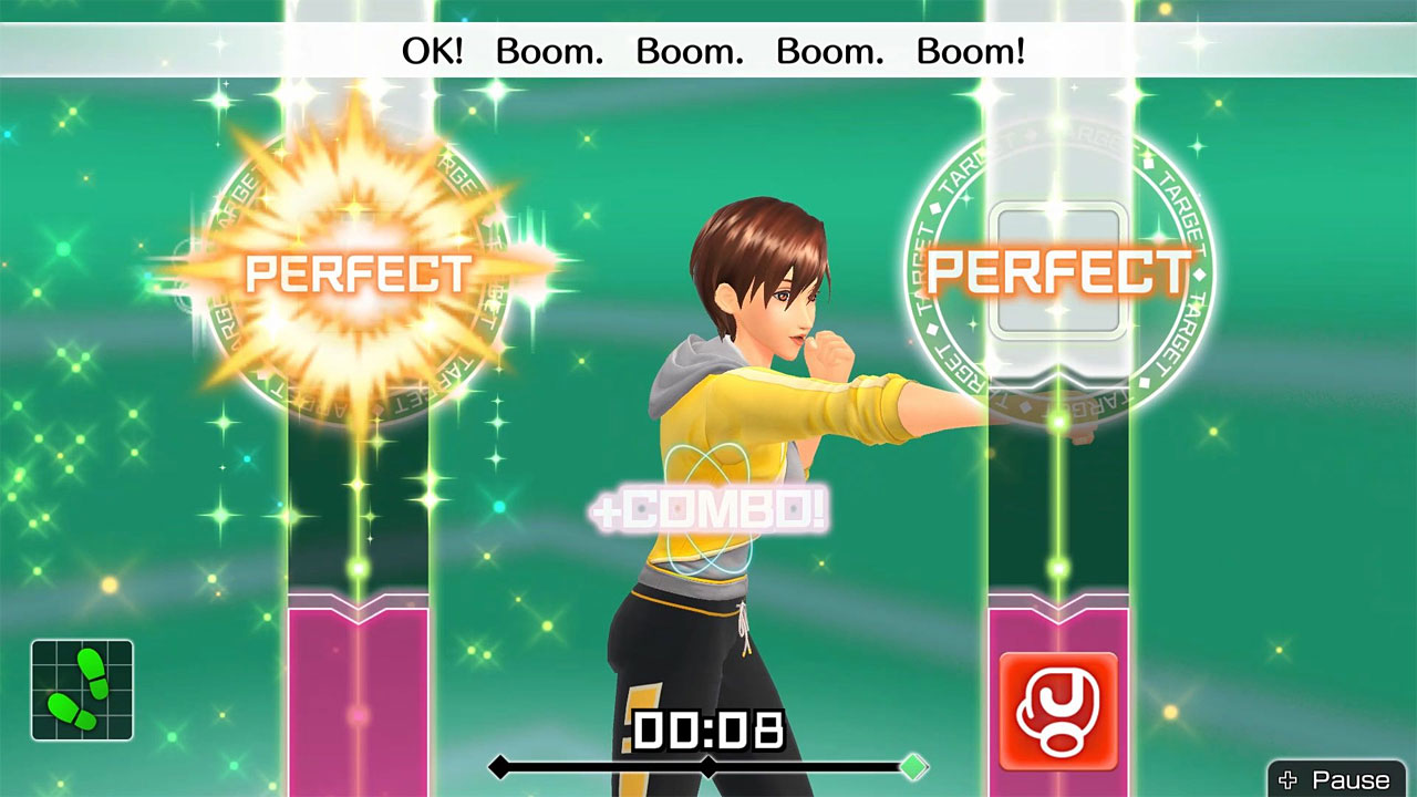 "Screenshot ""Fitness Boxing"""