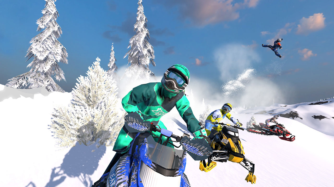 "Screenshot ""Snow Moto Racing Freedom"""
