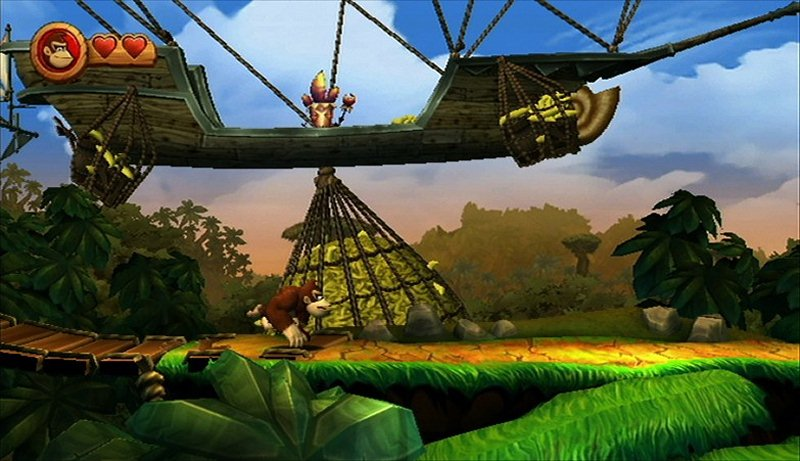 "Screenshot ""Donkey Kong Country Returns"""