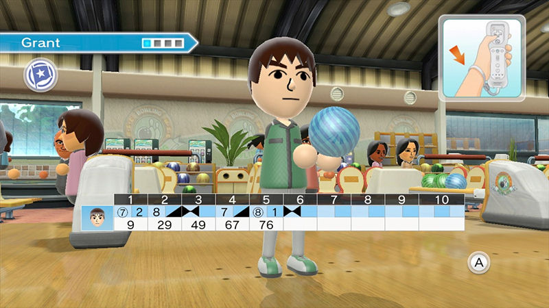 "Screenshot ""Wii Sports Club"""