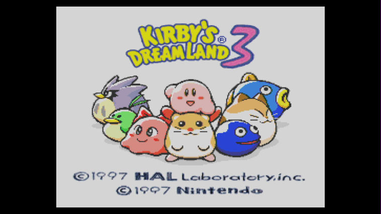 "Screenshot ""Kirby's Dream Land 3"""