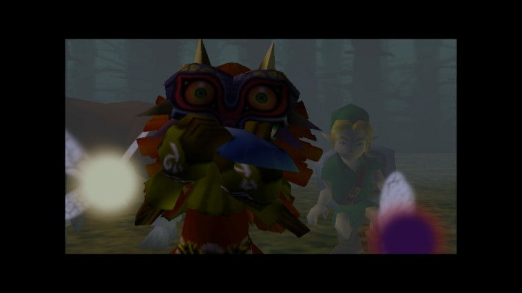 "Screenshot ""Legend of Zelda: Majora's Mask"""