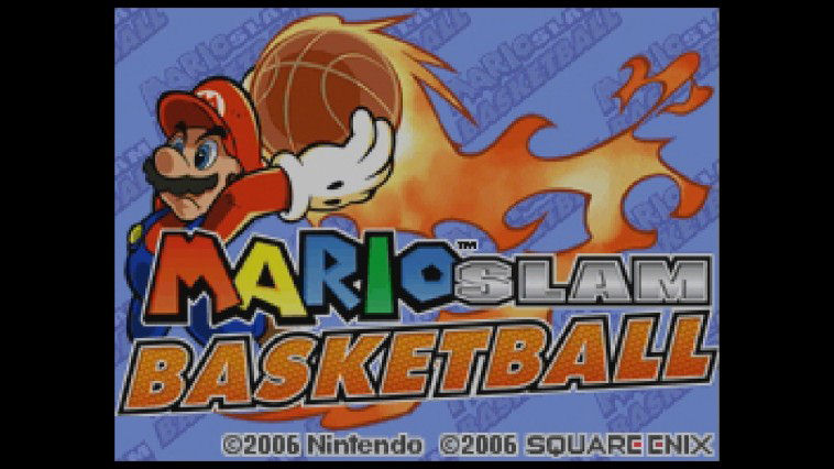 "Screenshot ""Mario Slam Basketball"""