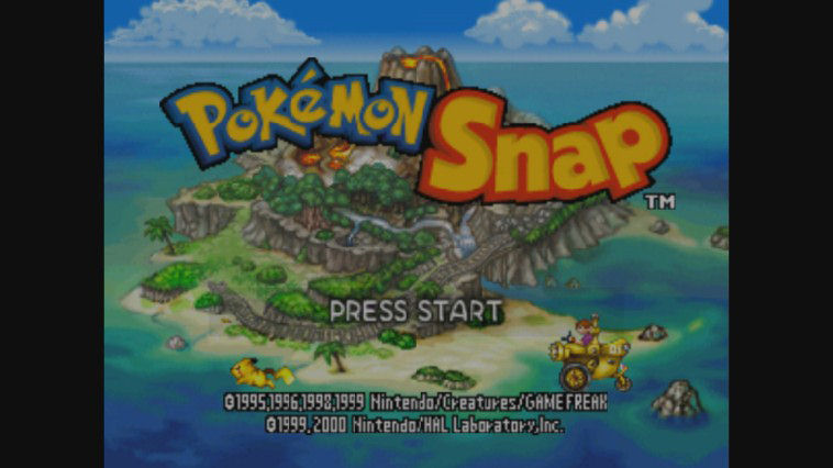 "Screenshot ""Pokémon Snap"""