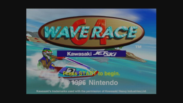 "Screenshot ""Wave Race 64"""
