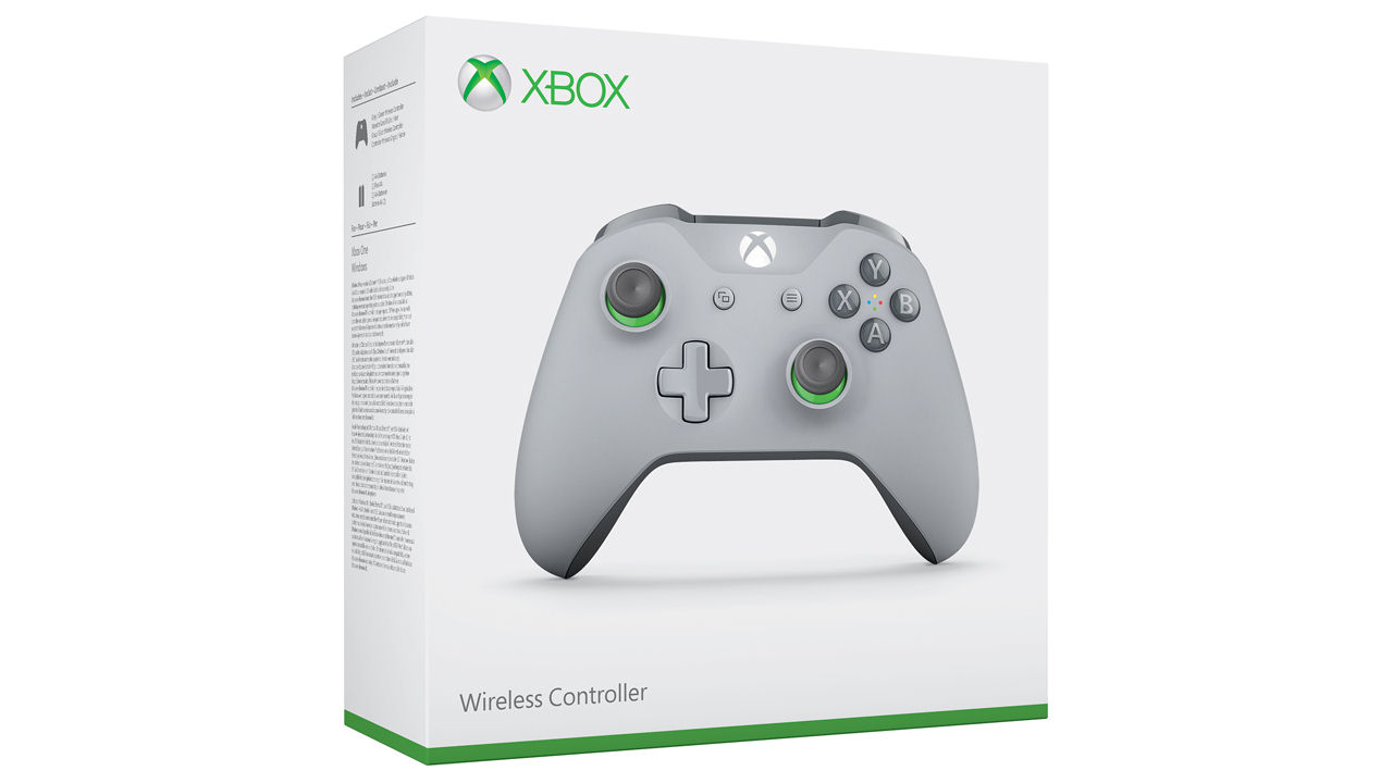 "Screenshot ""Controller Wireless Xbox One -Grey/Green- (Microsoft)"""