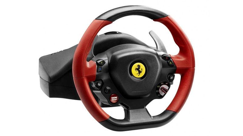 lenkrad tx racing wheel ferrari f458 italia edition. Black Bedroom Furniture Sets. Home Design Ideas