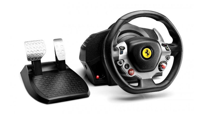 "Screenshot ""Lenkrad TX Racing Wheel Ferrari F458 Italia Edition (Thrustmaster)"""