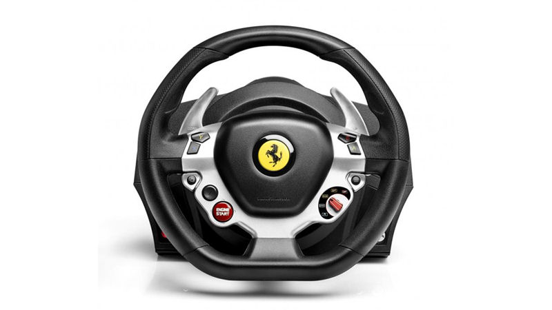 lenkrad tx racing wheel ferrari f458 italia edition thrustmaster xbox one. Black Bedroom Furniture Sets. Home Design Ideas