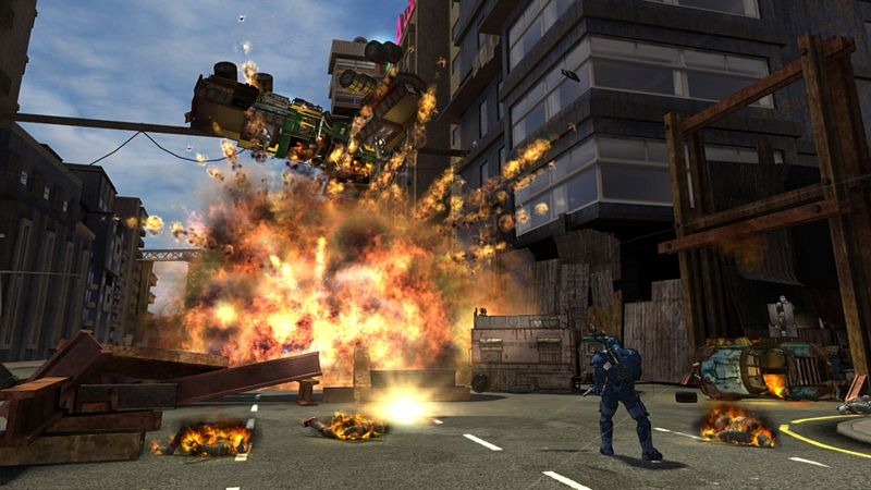 "Screenshot ""Crackdown 2"""