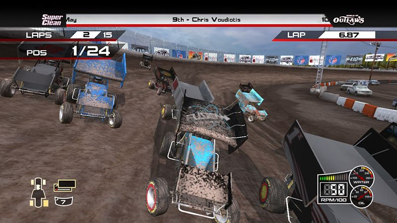 "Screenshot ""World of Outlaws: Sprint Cars"""