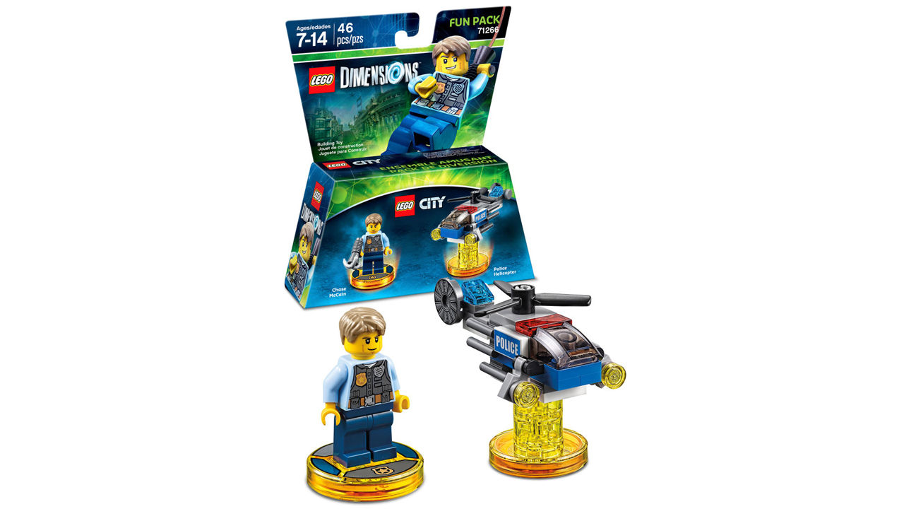 "Screenshot ""LEGO Dimensions Fun Pack: LEGO City Chase McCain (71266)"""