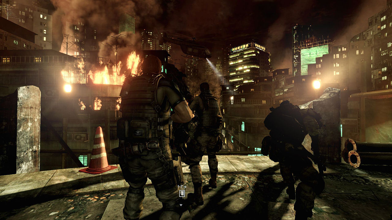 "Screenshot ""Resident Evil 6"""