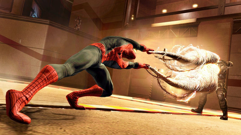 "Screenshot ""Spider-Man: Edge of Time"""