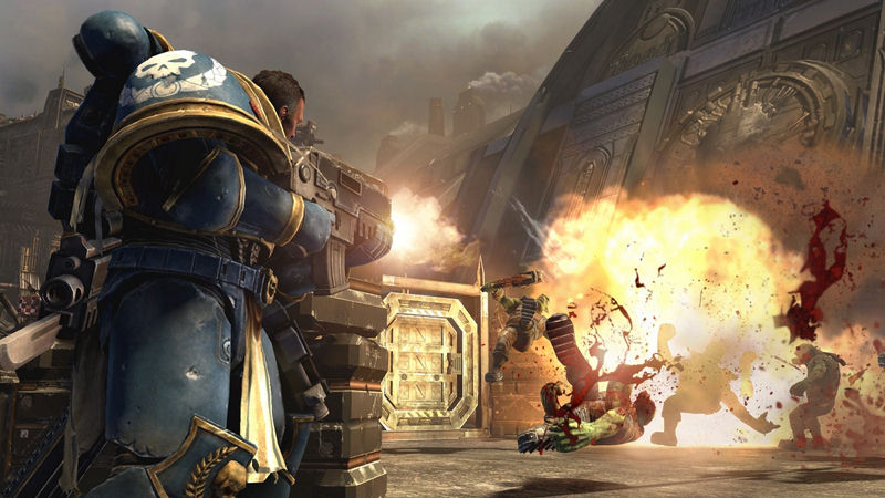 "Screenshot ""Warhammer 40'000: Space Marine"""