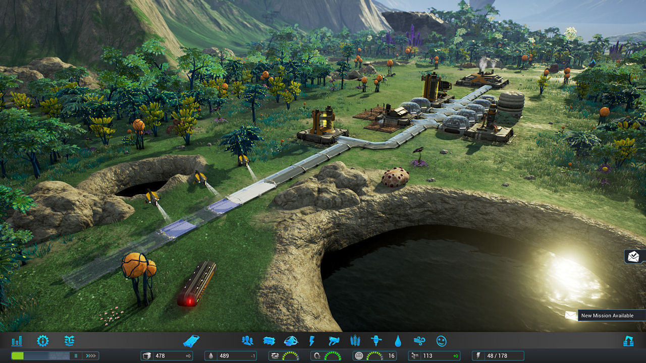 Colony Building Games Pc
