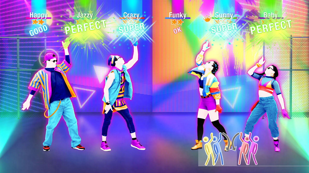 how to play just dance 4