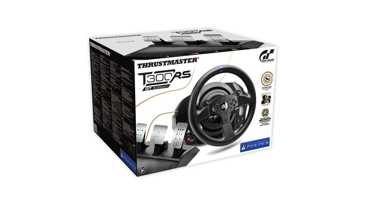 "Screenshot ""T300 RS GT Edition Racing Wheel (Thrustmaster)"""