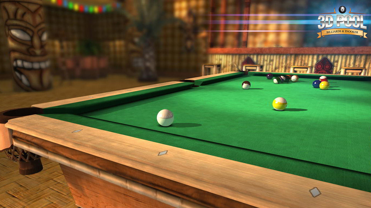 "Screenshot ""3D Billard: Billard & Snooker"""