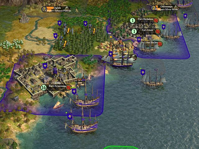 "Screenshot ""Civilization 4: Colonization"""