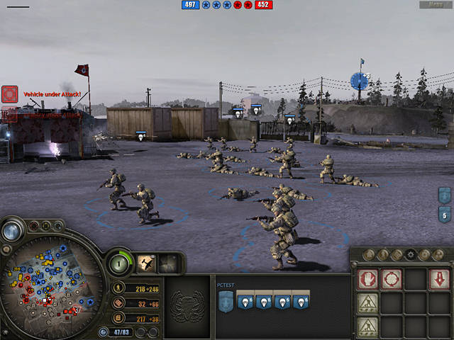 "Screenshot ""Company of Heroes - Complete"""