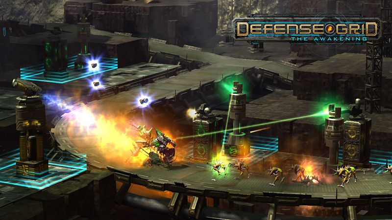 "Screenshot ""Defense Grid: The Awakening"""