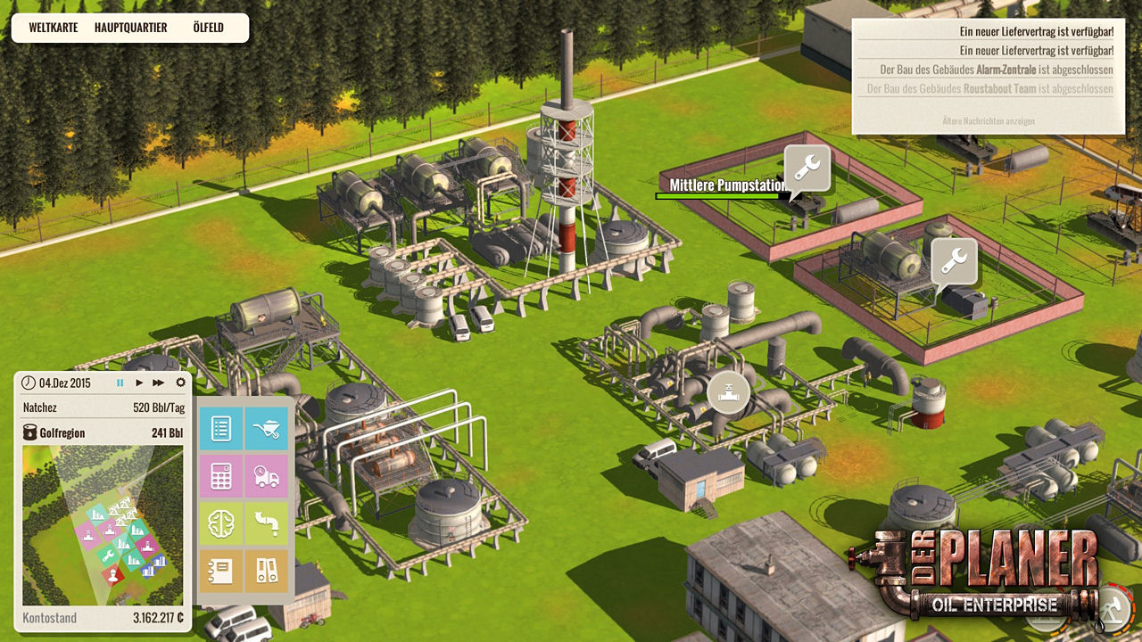 oil company game
