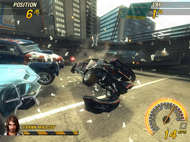 "Screenshot ""FlatOut 2"""