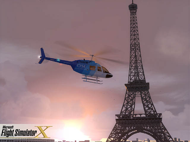 "Screenshot ""Flight Simulator X - Professional Edition"""