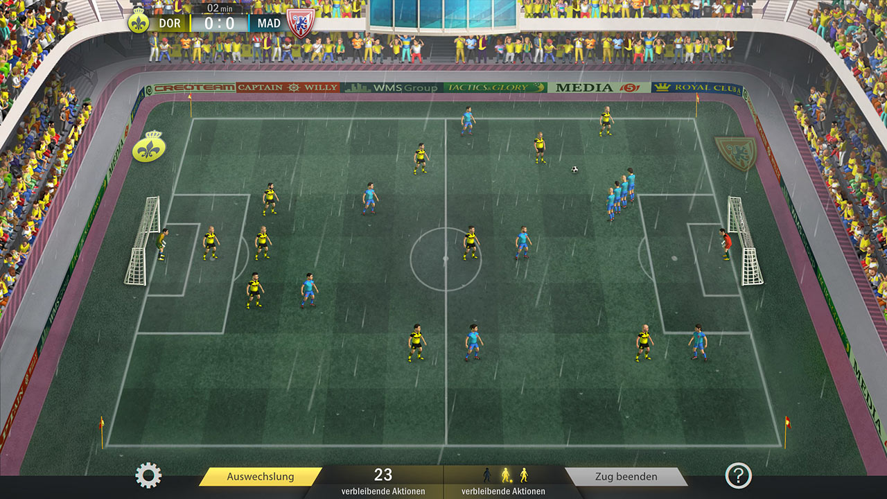 "Screenshot ""Football, Tactics & Glory"""