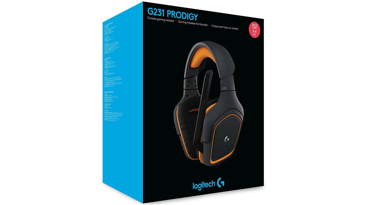 "Screenshot ""Headset G231 Prodigy (Logitech)"""