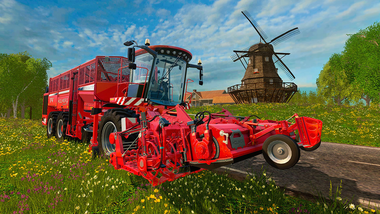 "Screenshot ""Landwirtschafts-Simulator 15 Add-on 2"""