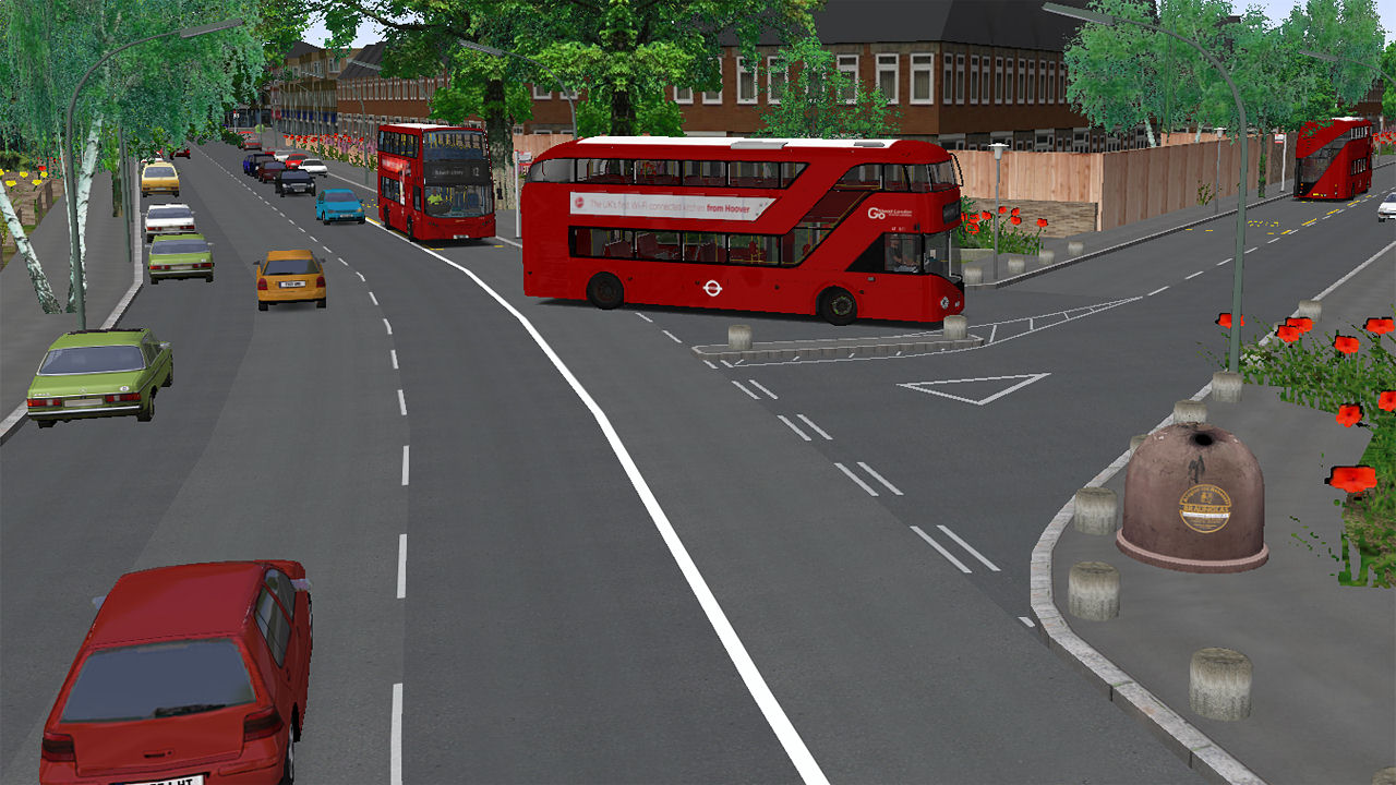 "Screenshot ""OMSI 2: London"""