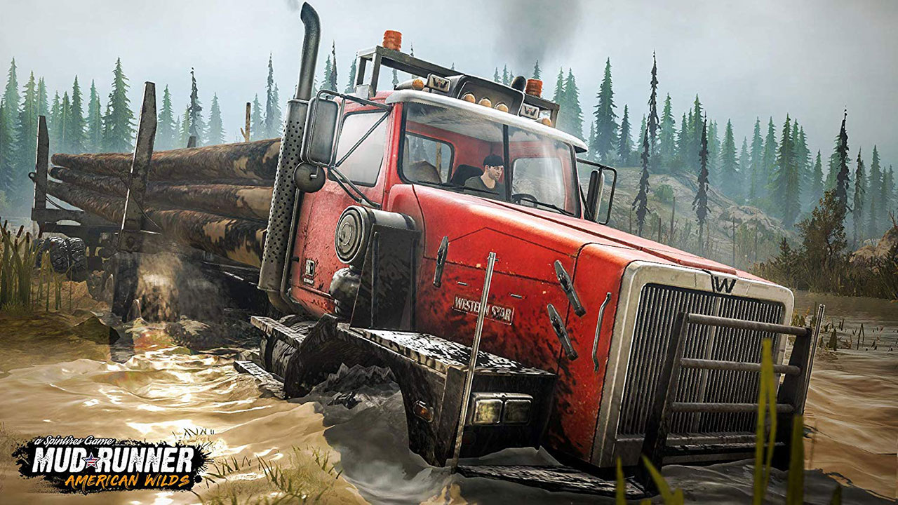 "Screenshot ""Spintires: MudRunner - American Wilds Edition"""