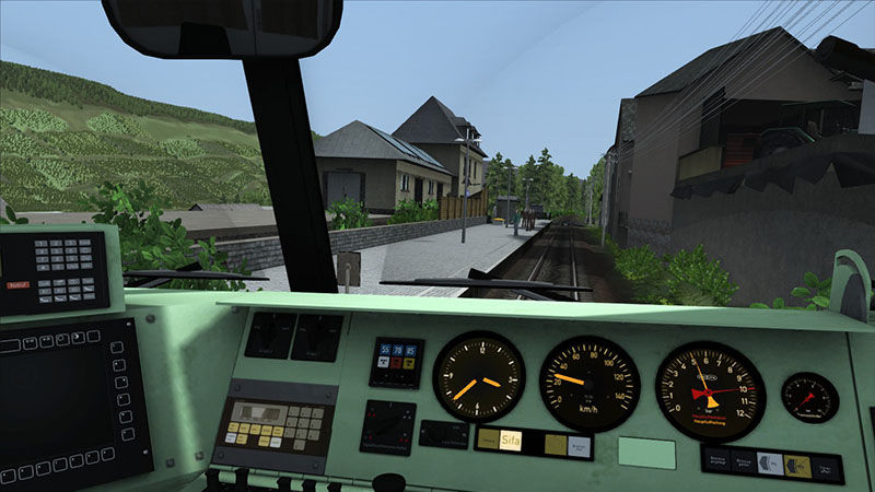 "Screenshot ""Train Simulator 2016 Add-on: Durchs Moseltal"""