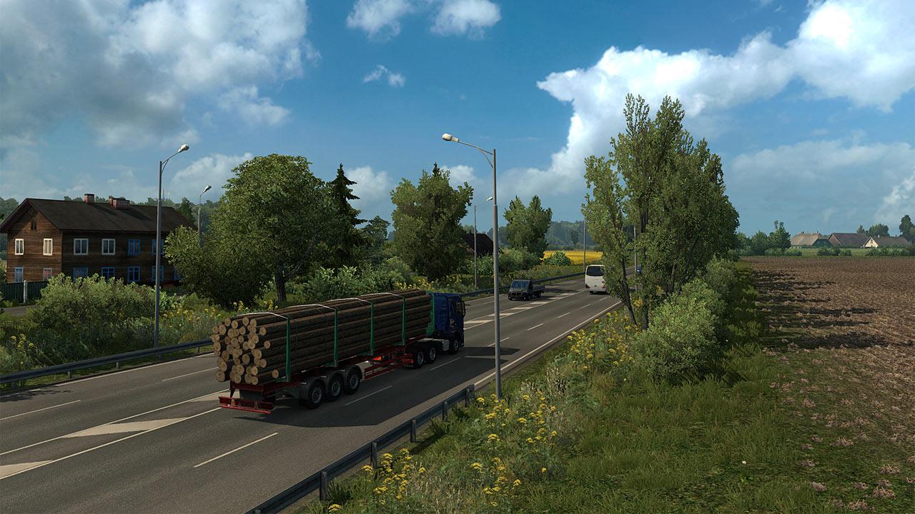 euro truck simulator 2 beyond the baltic sea pc games. Black Bedroom Furniture Sets. Home Design Ideas