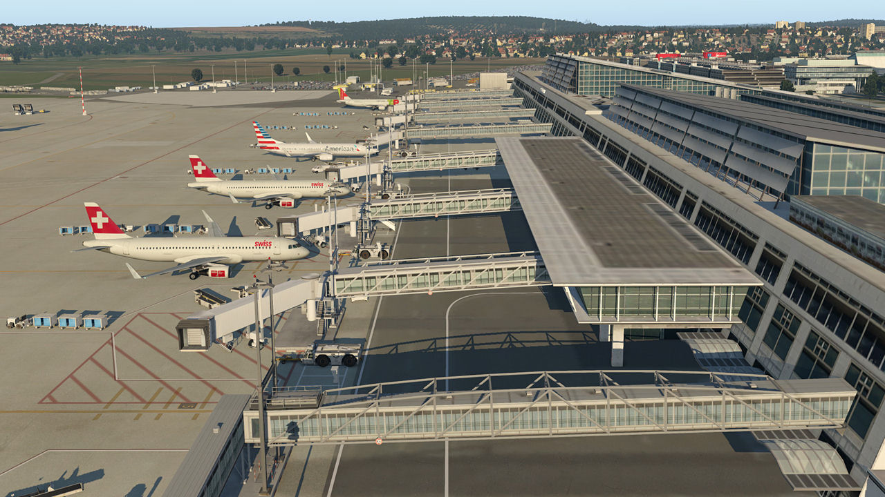 "Screenshot ""XPlane 11: Airport Stuttgart"""