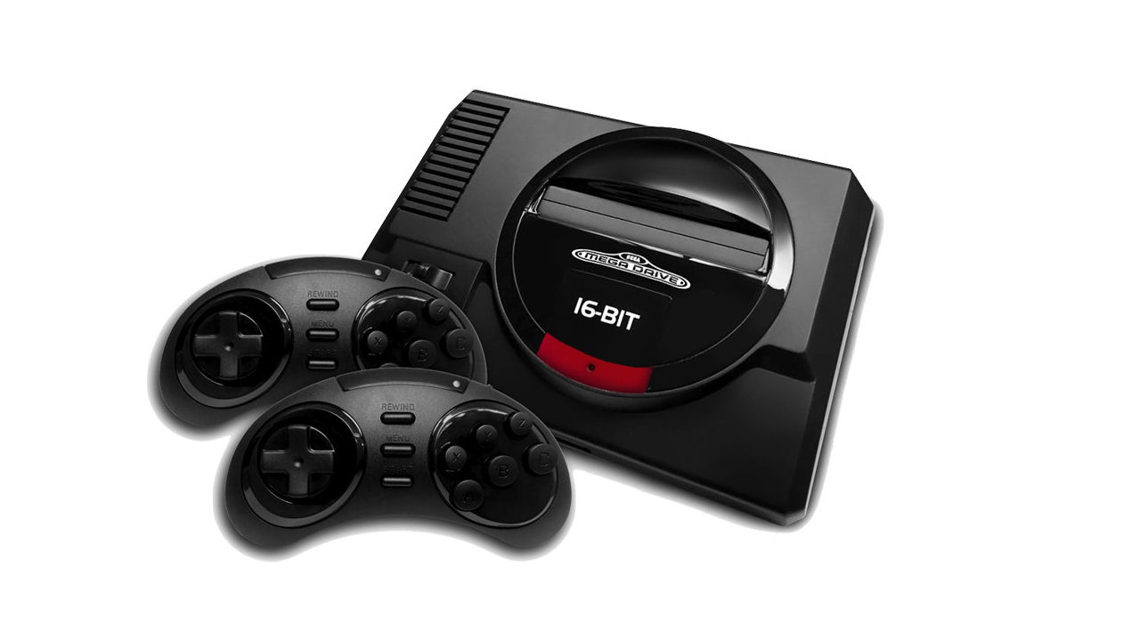 "Screenshot ""SEGA Mega Drive Flashback HD Console"""