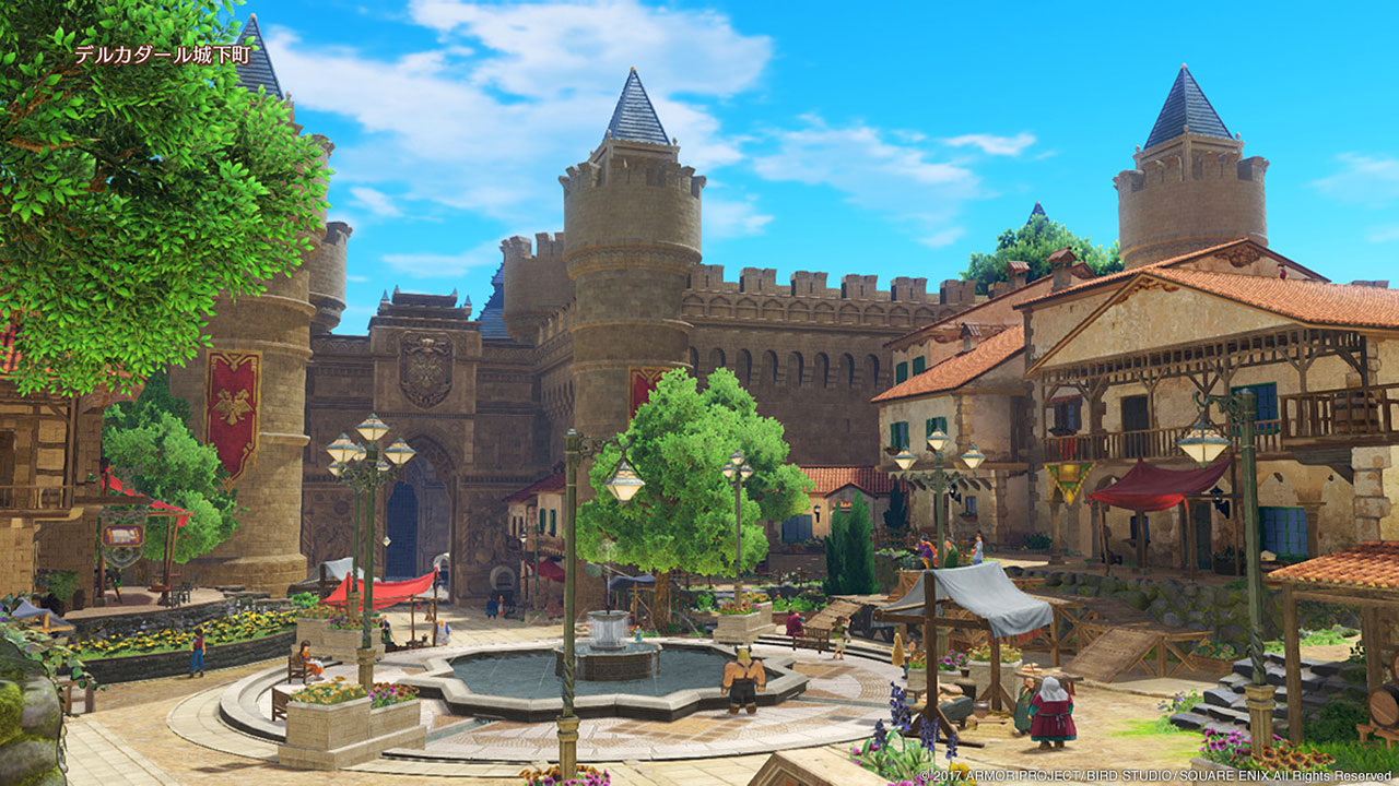 "Screenshot ""Dragon Quest 11: Echoes of an Elusive Age"""