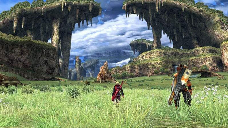 "Screenshot ""Xenoblade Chronicles"""