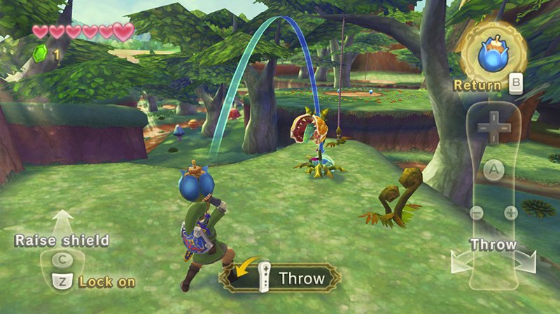 "Screenshot ""Legend of Zelda: Skyward Sword"""