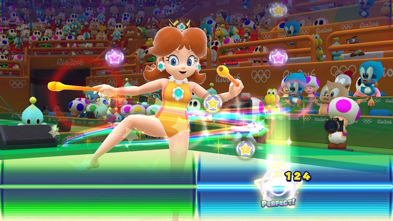 Mario Sonic Bei Den Olympischen Spielen Rio 2016 Wii U Digital