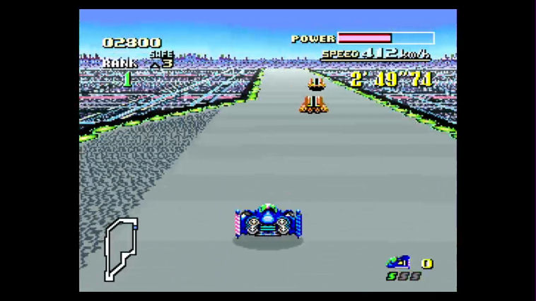 "Screenshot ""F-Zero"""