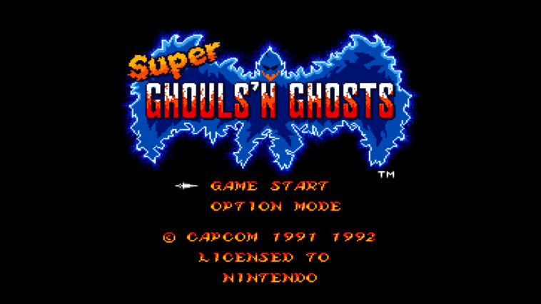 "Screenshot ""Super Ghouls'n Ghosts -SNES-"""
