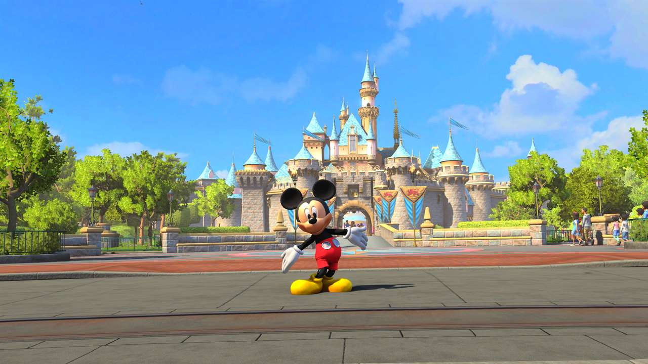 "Screenshot ""Disneyland Adventures"""