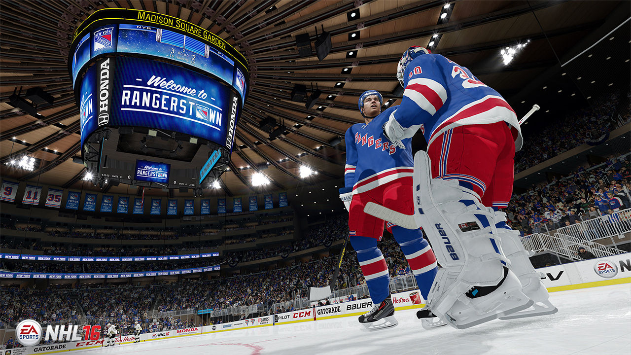 "Screenshot ""NHL - Legacy Edition"""